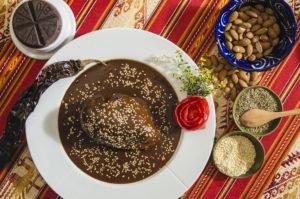 Mole negro from Cocina Corazón