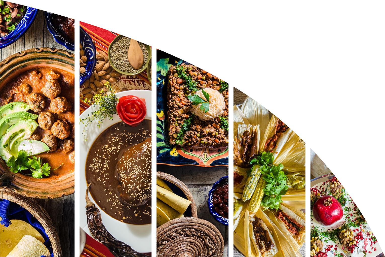 Traditional recipes from Cocina Corazón