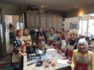 Mexican birthday-cooking party